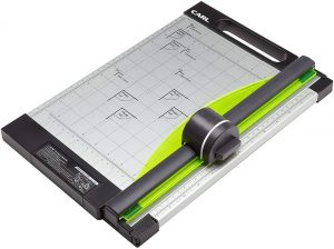 CARL 12 inch-Green Friendly, Professional Rotary Paper Trimmer