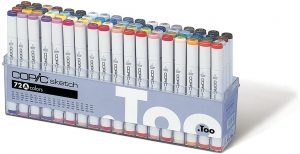 Copic Marker 72-Piece