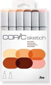 Copic Markers 6-Piece