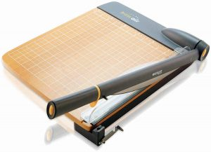 Titanium Wood Guillotine Paper Trimmer
