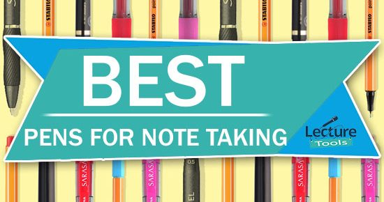 Best Pens For Note Taking