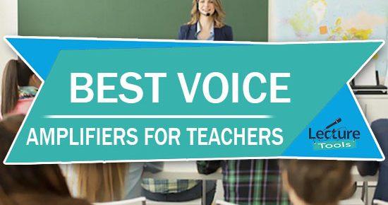 best voice amplifiers for teachers