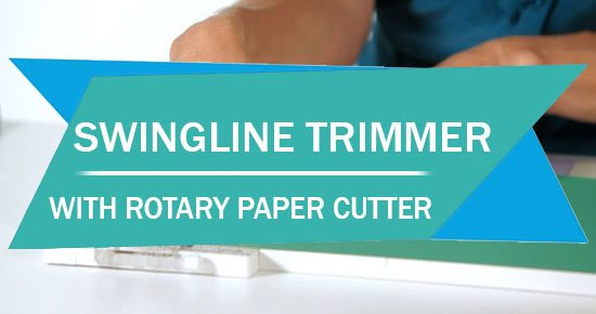 Swingline Paper Trimmer with Rotary Paper Cutter